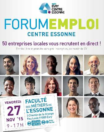 Invitation au Forum Intercommunal pour l'Emploi   27 11