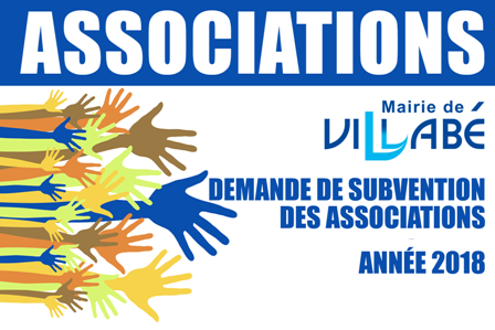 Dossier subvention associations 2018